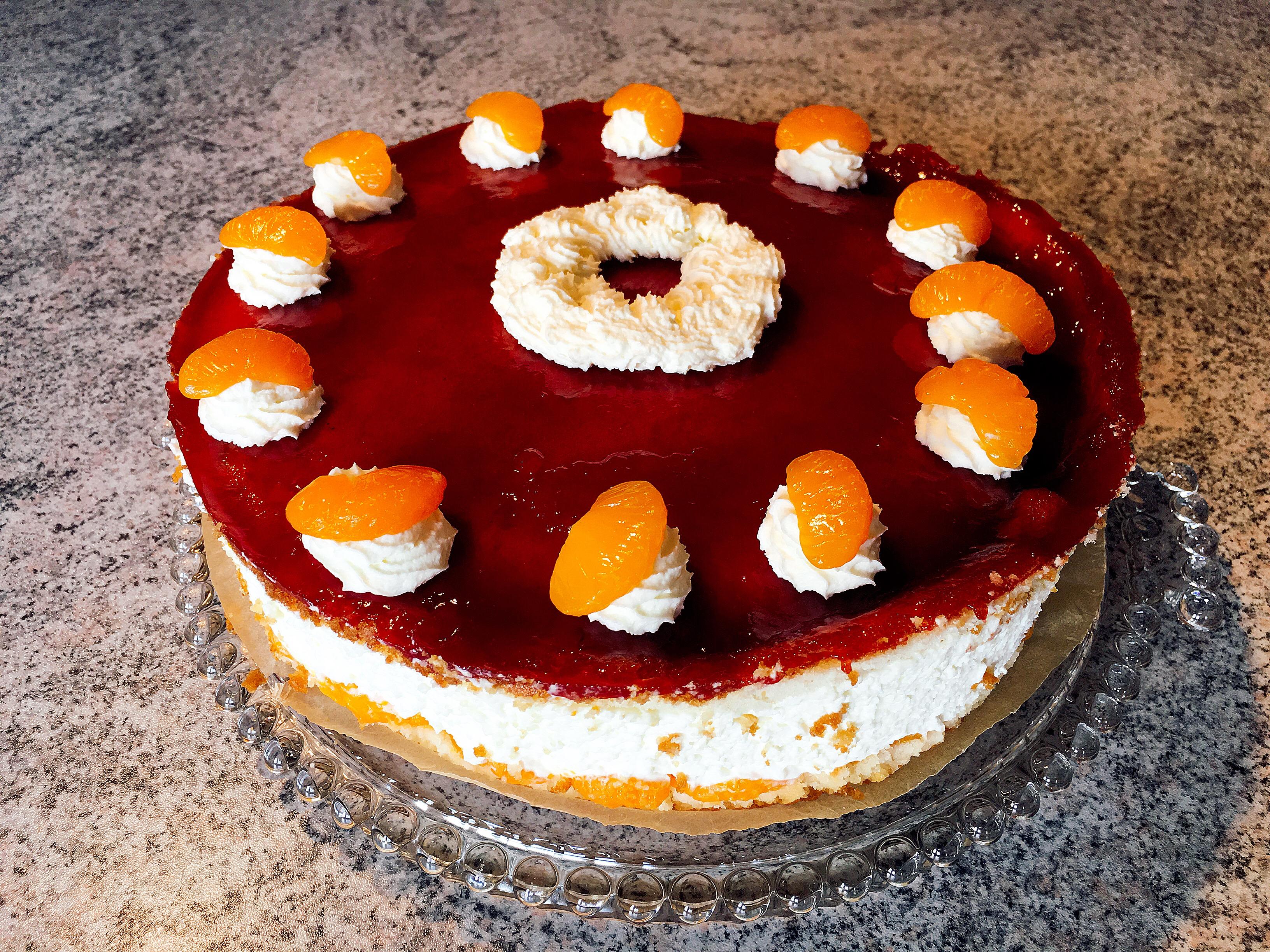 Kase Sahne Torte Unser Kochblog